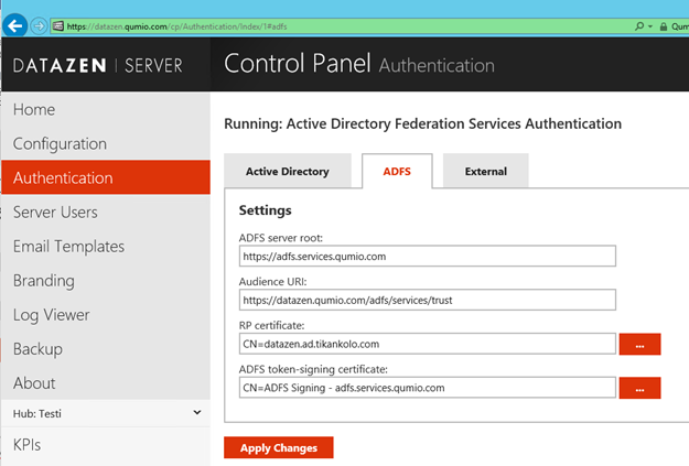 How-to: Configuring ADFS authentication for Datazen - Blog