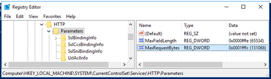 Power BI Report Server / Reporting Services 2016: Bad Request